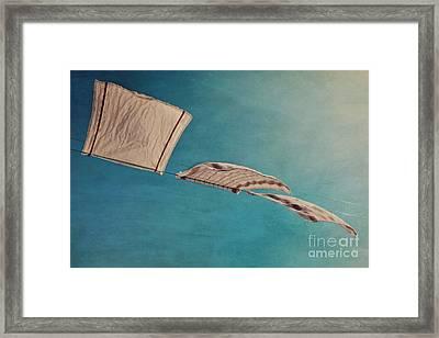 Laundry Day Framed Print by Priska Wettstein
