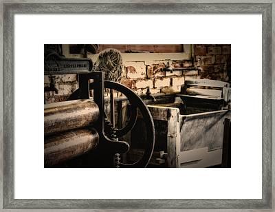 Laundry Framed Print by John Monteath