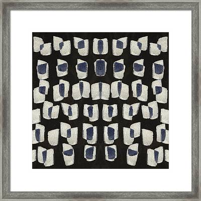 Laura Series Making Marks 545b1 Framed Print by Carol Leigh