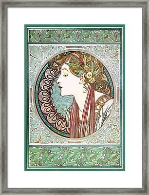 Laurel Framed Print by Charlie Ross