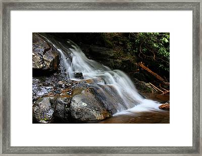 Laurel Falls Great Smoky Mountains Framed Print by Jerome Lynch