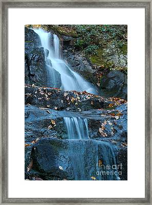 Framed Print featuring the photograph Laurel Falls by Patrick Shupert