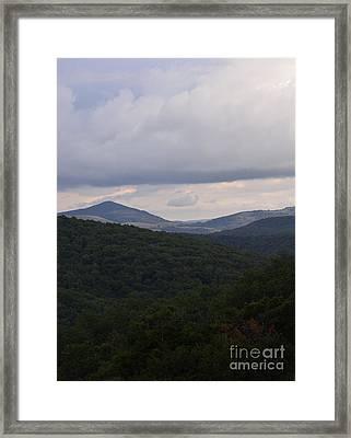 Laurel Fork Overlook 1 Framed Print by Randy Bodkins