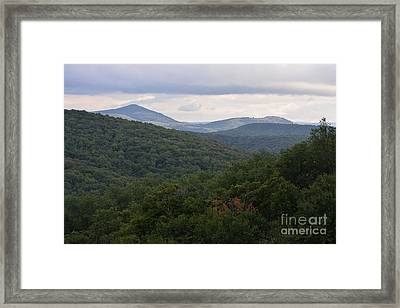 Laurel Fork Overlook II Framed Print by Randy Bodkins