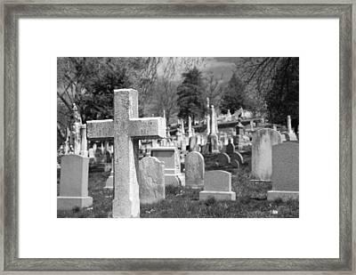 Laurel Hill Framed Print