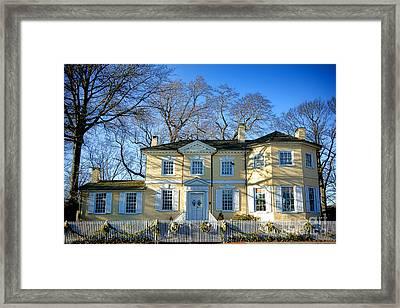 Laurel Hill Mansion Framed Print by Olivier Le Queinec