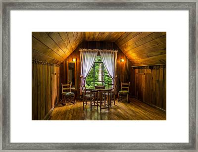 Laurel House Framed Print