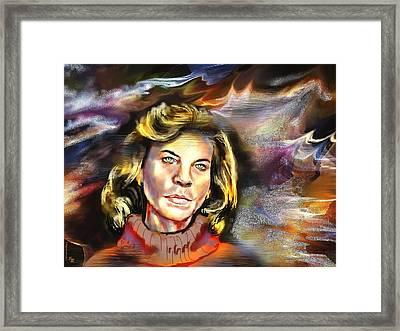 Lauren  Framed Print by Francoise Dugourd-Caput
