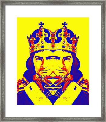 Laurence Olivier Double In Richard IIi Framed Print by Art Cinema Gallery