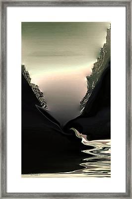Lava Flow Framed Print by Steve Godleski
