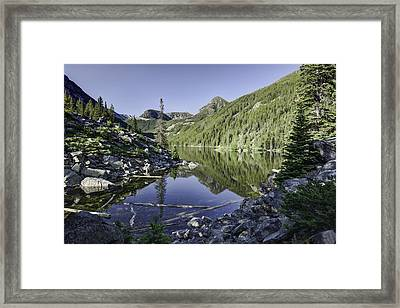 Lava Lake II Framed Print