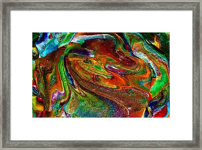 As The World Turns Framed Print