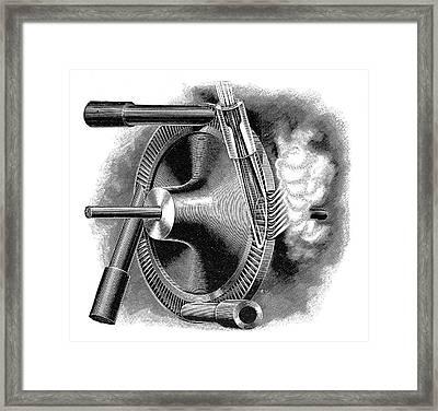 Laval Turbine Framed Print