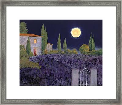 Lavanda Di Notte Framed Print