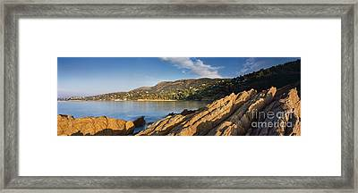 Cote D'azur Framed Print by Rod McLean