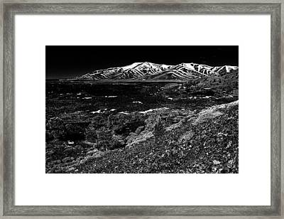 Lavascape Framed Print by Benjamin Yeager
