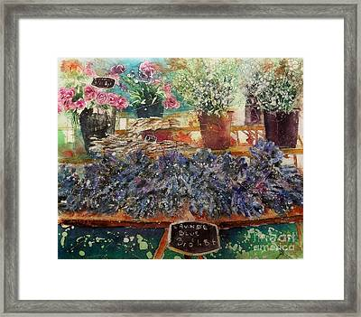 Lavendar For Sale Framed Print
