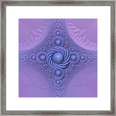 Lavender Beauty Framed Print