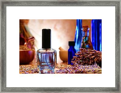 Lavender Shop Framed Print