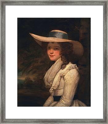 Lavinia Bingham, Countess Spencer Framed Print