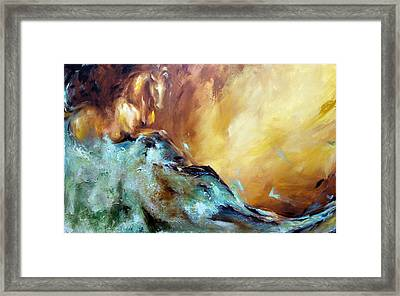 Law Of Attraction Left Side Framed Print by Dina Dargo