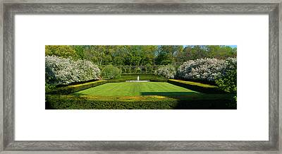 Framed Print featuring the photograph Lawn In Central Park by Yue Wang
