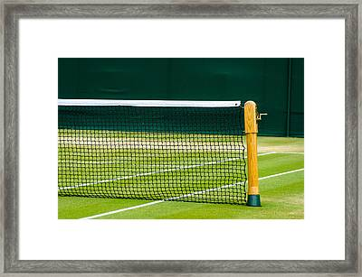 Lawn Tennis Court Framed Print by Dutourdumonde Photography