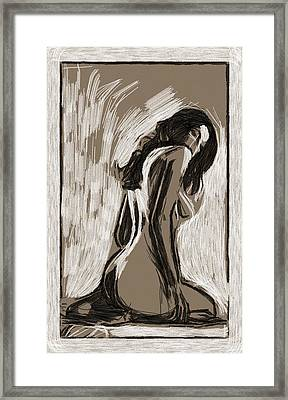 L.a.woman Framed Print by Steve K