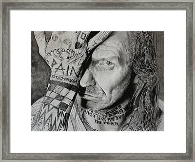 Lawrence Desmedt Framed Print