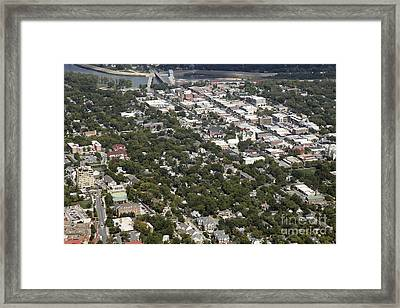 Lawrence Kansas Framed Print by Bill Cobb