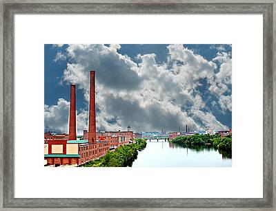 Lawrence Ma Skyline Framed Print