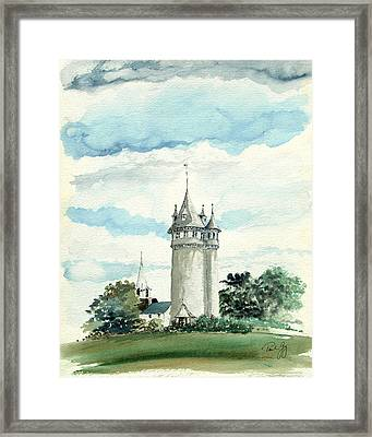 Lawson Tower Scituate Ma Framed Print