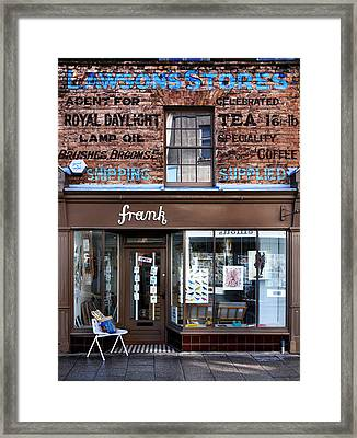 Lawsons Stores Framed Print by Mark Rogan