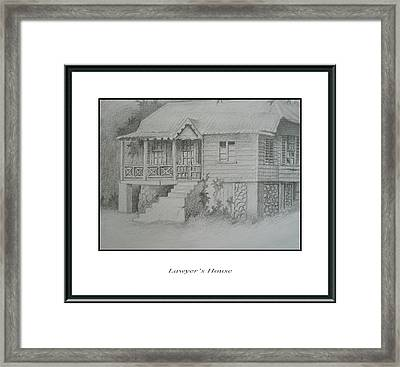 Lawyer's House Framed Print