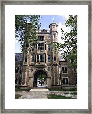 Lawyer's Prison Framed Print