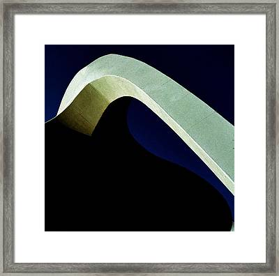 Lax Airport Framed Print by Jacqueline M Lewis