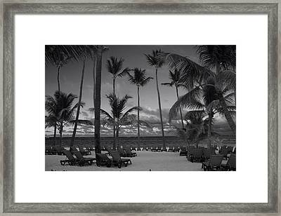 Lay Back And Relax Framed Print