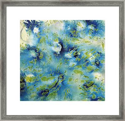 Layering 4 Framed Print by Sumit Mehndiratta