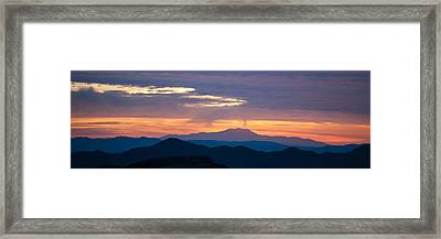 Layers - The Mojave II Framed Print by Peter Tellone