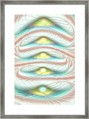 Layers Framed Print