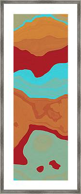 Layers And Form 2 Framed Print by David G Paul