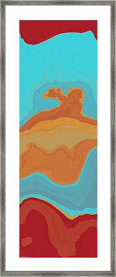 Layers And Form Framed Print by David G Paul