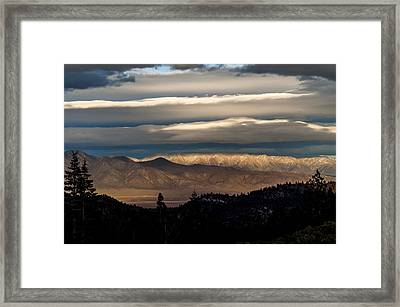 Layers Framed Print by Cat Connor