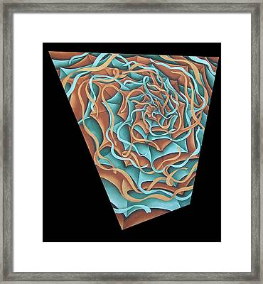 Layers Clvii Framed Print