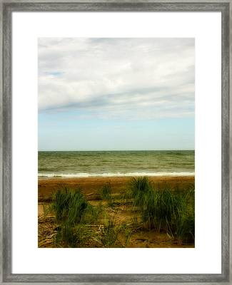 Natural Layers Framed Print