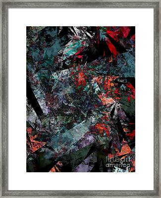 Layers Of Memories Framed Print by Klara Acel