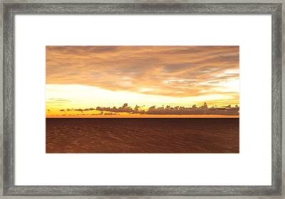 Framed Print featuring the photograph Layers by Paul Noble