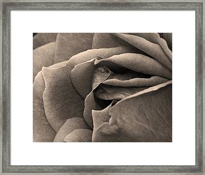Framed Print featuring the photograph Layers Unfurled  by Robert Culver