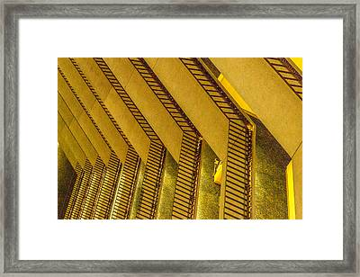 Layers Upon Layers Framed Print