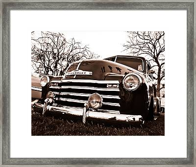Laying Low Framed Print